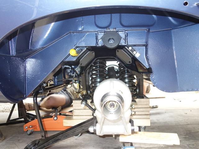 Rear Suspension – Restoration of NNF 10H