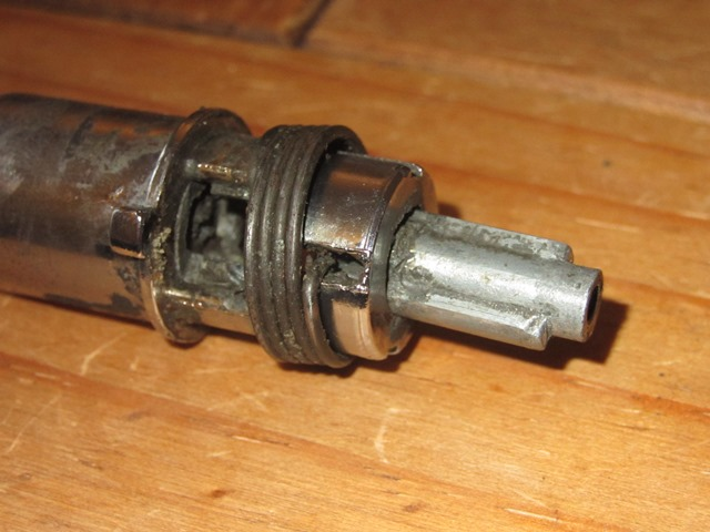 The operation of both locks had started to suffered due to a build up of dirt and grease