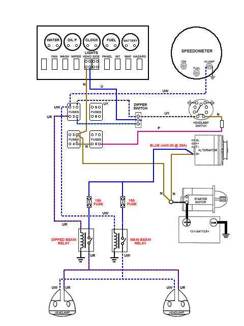 wiring diagram jaguar e type wiring wiring diagrams online i