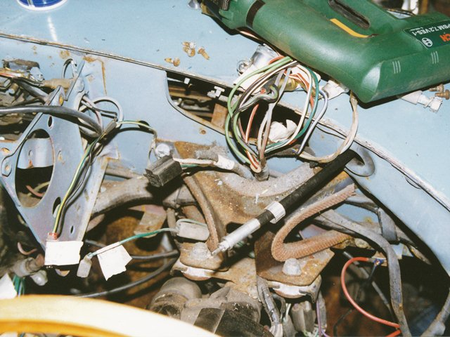 wiring looms restoration of nnf 10h rh etype chrisvine com