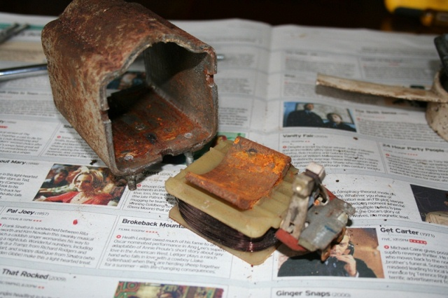 Stator housing can then be removed