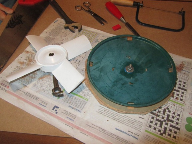 Birdfeeder base was an exact diameter match which made making the templates much easier
