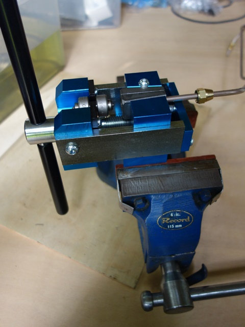The Oakes brake flaring tool purchased from Automec was well worth the investment
