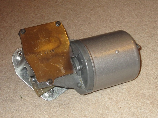 The completed wiper motor